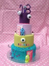 Monsters Inc 18th Cake Original Design By The Royal Baker Flickr