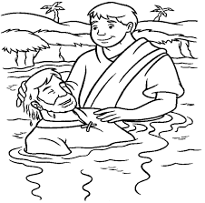 Icon of john the baptist in the greek style. Baptism Coloring Pages Best Coloring Pages For Kids