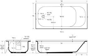 amazing size of standard bathtub ideas for bathroom bath tub inside plans 19