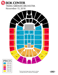 directions seating chart events bok center