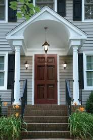 front door overhang25 best Front door awning ideas on Pinterest  Metal awning
