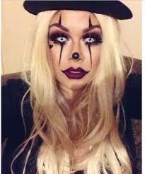 chola clown makeup for