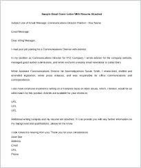 Short Email Cover Letters Is A Cover Letter A Resume Englishor Com