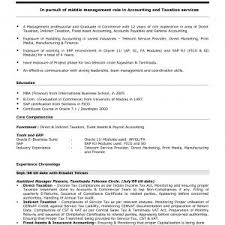 Resume Sample For Accounting Students With No Experience New ...