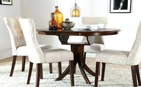 dark wood round dining table and chairs set eye catching gorgeous tables in modern computer desk