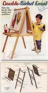 Easel Design Plans Kids Easel Plans Easel Diy Easel Woodworking For Kids