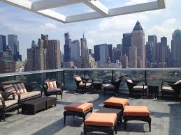 Nyc Penthouses For Parties Ink48 Penthouse Terrace The Perfect Spot For The New Gay Wedding