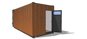 Container Am Nag Studio Terrasse Bois Am Nagements Bardage Bois Pour Container