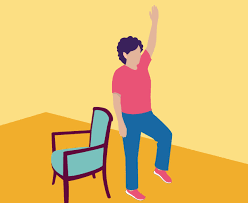 this balance exercise for seniors improves your physical coordination
