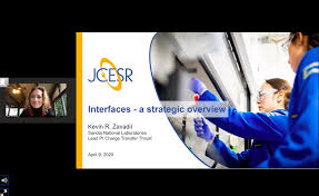 """Kent Griffith on Twitter: """"Over 200 people virtually attending the  @JCESRHub annual meeting. This morning we are going through overview talks  from team leaders @KPatBerkeley, @BalsaraLab, @Mechanophore, Kevin Zavadil  @SandiaLabs, and Brian"""