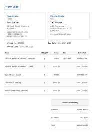 10+ Simple Invoice Creator Background