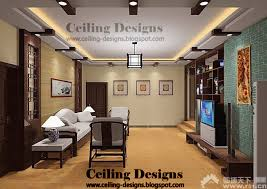 modern false ceiling designs for living room from gypsum and wood with lights and side lights