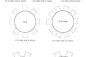 round table sizes for 5 size to seat dining 8 beautiful of designs round dining table