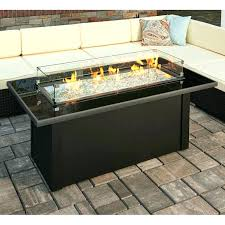 outdoor fire pit table outdoor fire pit table with free glass burner height square size inspirational outdoor fire pit table