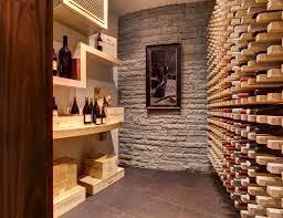 Small Picture stone wall decor Wine Cellar Modern with atlanta basement brick