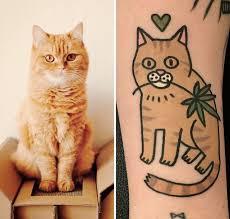 Fotočlánek Kočičí Tetování Trochu Jinak Zajímavosti Modrý Kocouřcz