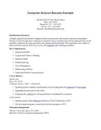 Key Skills Resume Science Resume Examples Science Resume Template