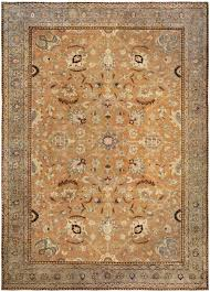 antique rug persian tabriz beige botanical vintage style area rugs by doris leslie blau about teal and gray colorful kilim yellow grey playroom distressed