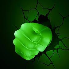 the avengers 3d wall art nightlight hulk hand on 3d wall art nightlight with the avengers 3d wall art nightlight hulk hand this stuff online