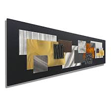 large black gold silver copper geometric modern metal wall art sculpture abstract on abstract geometric metal wall art with amazon large black gold silver copper geometric modern