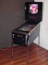 finished digital pinball machine