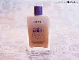 l oreal paris magic liquid powder foundation 320 natural beige review swatches