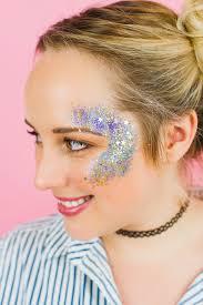 diy glitter station wedding make your own sparkle station glitter face makeup festival 2