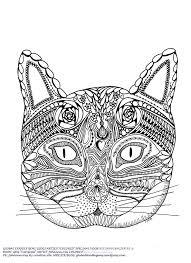 Kleurplaten Voor Volwassenen Katten Archidev Kleurplaten Voor With
