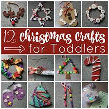 12 Easy Christmas Crafts For Toddlers  Happy HooligansEasy To Make Christmas Crafts