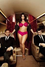 Addition Elle Bra Size Chart Ashley Graham Displays Her Curves In Navabi Lingerie Shoot