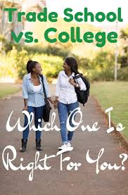 Define Vocational School Trade School Vs College Which One Should I Choose