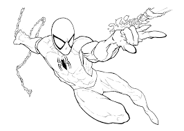 Small Picture spiderman wearing his mask coloring pages spiderman mask coloring