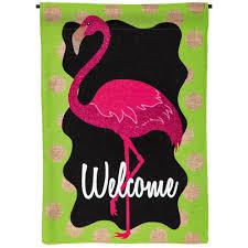 flamingo garden flags. Plain Garden Evergreen Enterprises Inc Flamingo Garden Flag To Flags L
