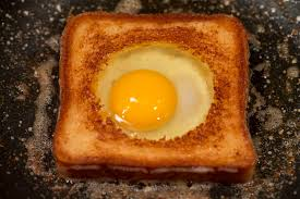 Image result for bread with egg