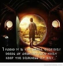 Bilbo Baggins Quotes Custom Literary Quotes Bilbo Baggins Image