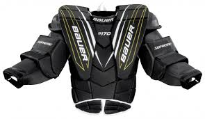 Bauer Goalie Chest Protector Size Chart Goalie Chest Protector Bauer Supreme S170 Jr Junior Shop