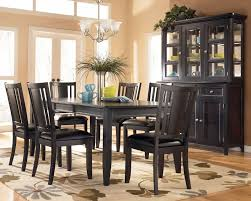 interesting dark wood dining room table and chairs 23 in used within dark dining room table ideas