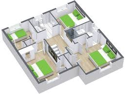 floor plan 3d. RoomSketcher-3D-Floor-Plan Floor Plan 3d O