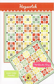 Hopscotch Pattern Unique Hopscotch Quilt Pattern Fig Tree Quilts FTQ48 Fat Quarter Shop