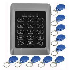 RFID Security Reader Entry Door Lock keypad Access Control System+ ...