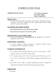 Different Types Resumes Formats Type Resume Format What Are The