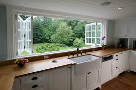 kitchen counter window. Farmhouse Kitchen Farmhouse-kitchen Counter Window