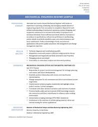 Amusing Mechanical Design Resume Pdf For Your Mechanical Engineering
