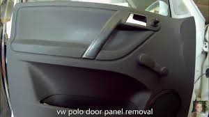 volkswagen polo 1994 2003 door panel removal