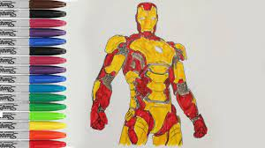 Iron man is a 2008 superhero film, based on the marvel comics superhero of the same name. Ironman Coloring Pages Ironman 3 Iroman Pages Fun Sailany Coloring Kids Youtube