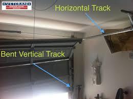 bent vertical track