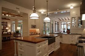 Large Kitchen Layouts Home Design Ideas - Open floor plan kitchen