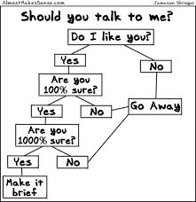 Talk To Me Flowchart