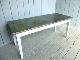 zinc top dining table zinc top table zinc topped outdoor dining tables antiqued finish zinc top zinc top dining table
