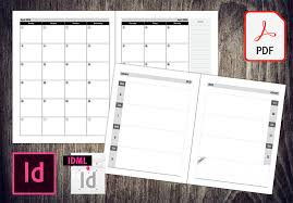 Plr Weekly And Monthly Planners Pdfs And Indesign Templates To Sell On Amazon Kdp